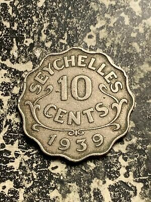 1939 Seychelles 10 Cents Lot#Q5262