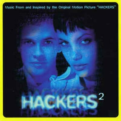 Hackers 2 MUSIC AUDIO CD movie soundtrack techno house trip hop trance electrica