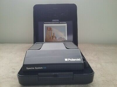 Polaroid Spectra System Se Camera with case and Instructions
