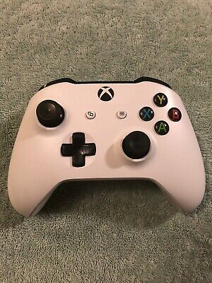 Microsoft XBOX ONE S Wireless Controller 1708 White STICK DRIFT
