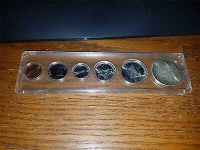 1967 Canada 6 Coin Proof Like Set Silver Dollar Half Quarter Dime Nickel Cent