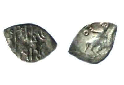 Russian XVth c. Silver Coin. Vasily III Denga Moscow. 1505 - 1533. CONDITION