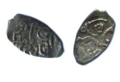 Russian XVth c. Silver Coin. Vasily III Denga Moscow. 1505 - 33. UNC. CONDITION!