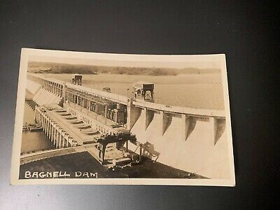 BAGNELL DAM CREATING LAKE OF THE OZARKS Missouri ~ Real Photo PC  RPPC