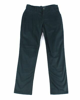 Lee Women's Pants Green Size 8 Skinny Leg Mid-Rise Pocket Stretch $48 367