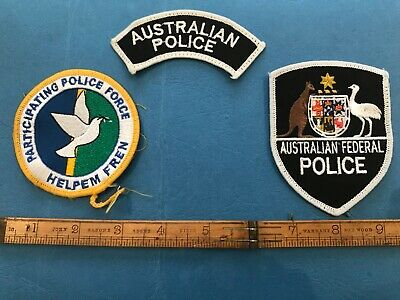 Regional Assistance Mission Solomon Islands-RAMSI Deployment Patch. Worn by AFP