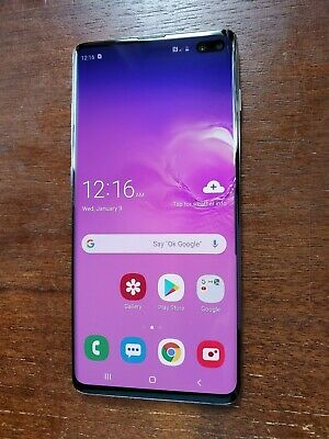 Samsung Galaxy S10+ Plus SM-G975U (Unlocked/AT&T) 128GB 512GB Black - EXCELLENT
