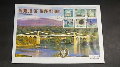 1997 Fdc Uk £2 Coin World Of Invention  Collection