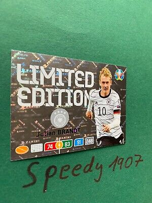 Panini Adrenalyn Euro 2020 Limited Edition Brandt Germany 20 Not Road UEFA