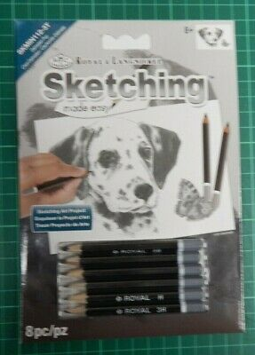 royal and langnickel set, mini Sketching Made Easy DOGS