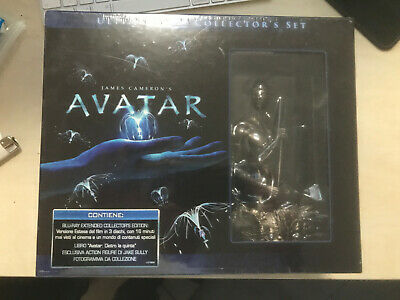 AVATAR bluray** Extended Collector Superfan Limited Edition 3 Blu Ray+Busto **