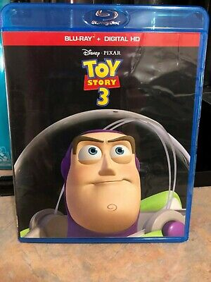 TOY STORY 3 movie (BLURAY/DVD) *NO DIGITAL CODE* DISNEY/PIXAR