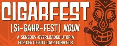 Cigarfest 2020  CigarNut Saturday May 2nd 10:30AM Entrance  SOLD OUT - 1 Ticket