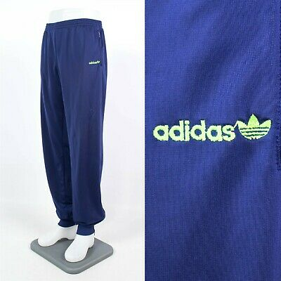 "Mens Vintage Adidas Tracksuit Bottoms Joggers Jogging Pants 90'S Large 34"" - 38"""