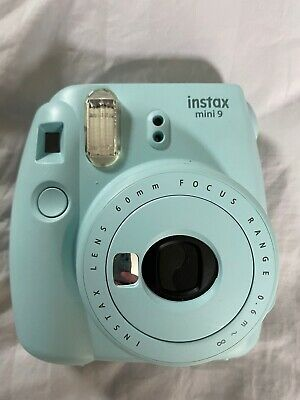 FUJIFILM Instax Mini 9 Ice Blue Instant Film Camera