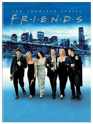 Friends: The Complete Series Seasons 1-10 (DVD, 32-Disc Collection)