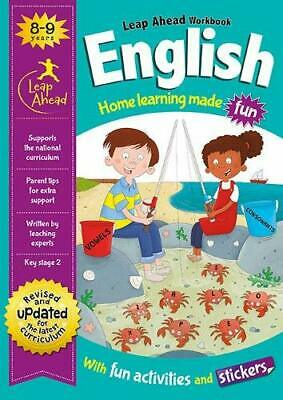 KS2 ENGLISH Leap Ahead Home Learning Workbook Ages 8-9 New Year 4