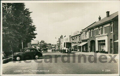 WATERLOOVILLE London Road Postcard Portsmouth HAMPSHIRE Valentine's Co Cars