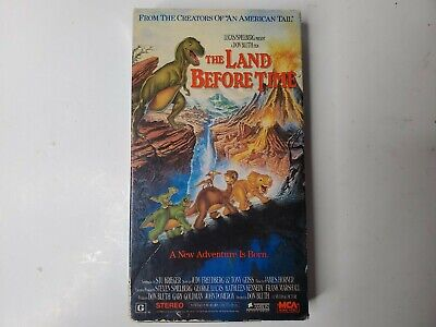The Land Before Time Vhs 1988