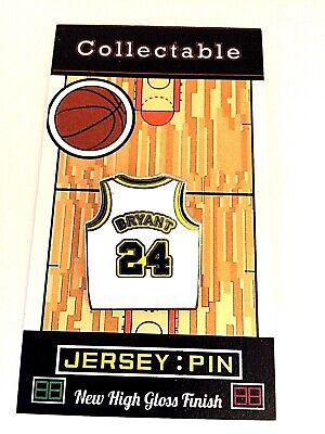 Los Angeles Lakers Kobe Bryant jersey lapel pin-Hardwood Legend-Collectible