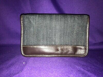Thirty One Timeless Wallet Dark Denim 249A Retired Rare 31 Organizer Clutch~NICE
