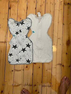 Love To Dream Swaddle Up Summer Lite Sz Small X 2