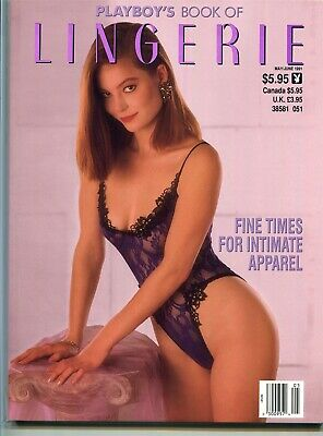 Playboy's Book of Lingerie May / June 1991 Laura Richmond Cover Girl