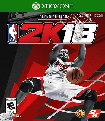 NBA 2K18 Legend Edition Xbox One New Xbox One, Xbox One