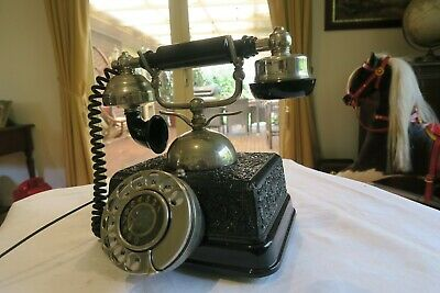 """Vintage Old Style Telephone Phone""""Stunning"""" Clean Working Phone"""