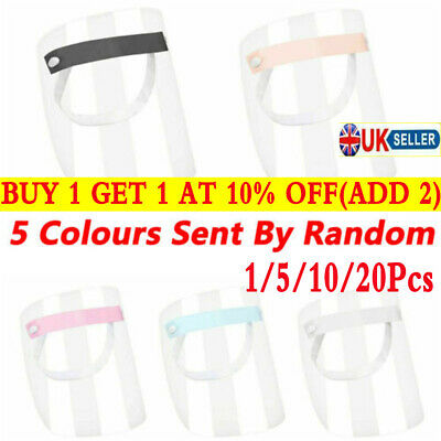 Full Face Shield Clear Flip Up Visor Oil Fume Protection Safety Work Guards Tool