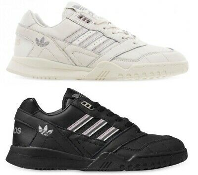 Adidas A.r Trainer Leather Tennis Shoes Ladies Womens Sport Sneakers Walking