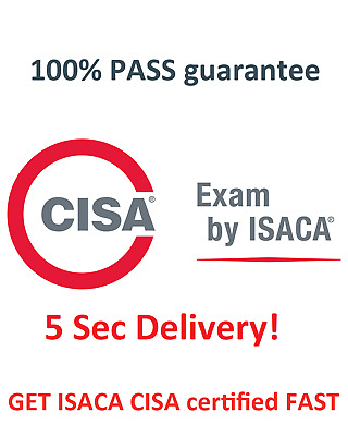 ISACA CISA Certified Information Systems Auditor exam dumps Q&A + simulator 📩