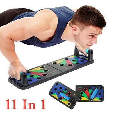 11 In 1 Push Up Rack Board Body Muscle Training Fitness Gym Exercise Stands Tool