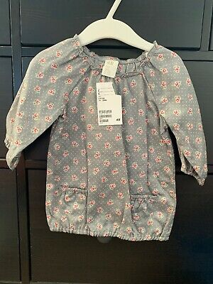 Baby Girls H&M Top 2-4 Months Brand New
