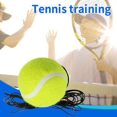 Indoor Singles Tennis Trainer Training Practice Ball Back Base Tennis + String