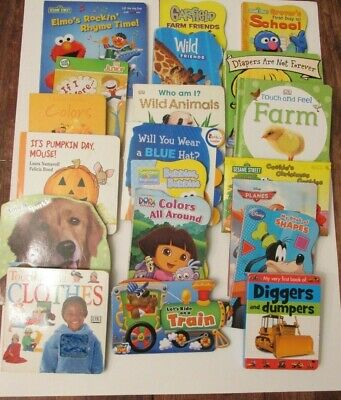 Baby Board Books - Lot of 20 - Toddler babies - Children Story Bedtime