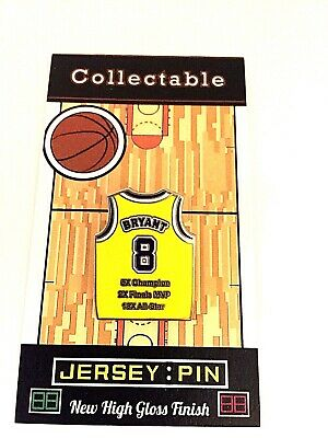Los Angeles Lakers Kobe Bryant jersey lapel pin-SHOWTIME Legend-Collectible