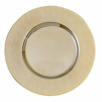 Heim Concept Luster Gold Chargers, Set of 4 Gold