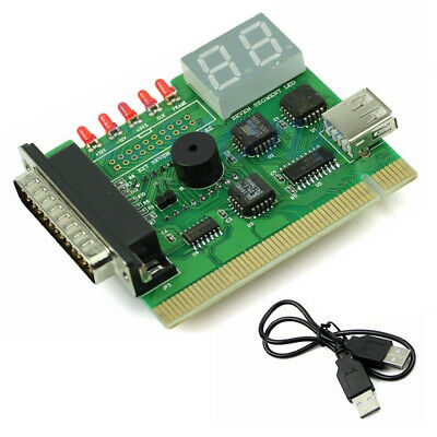 Tester Analyzer Diagnostic Card With Light USB Computer PCI Post PC Motherboard