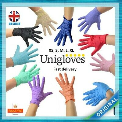 10 Gloves Disposable Gloves Latex Free Anti Allergy or Latex (Natural Rubber)