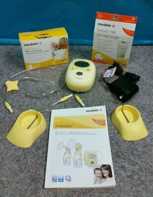 Medela Freestyle Double Breast Pump With Bags