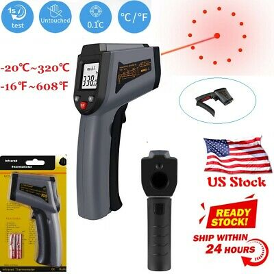 Digital IR Infrared Thermometer Non Contact Temperature LCD Display Gun US Stock