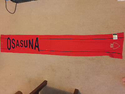 Osasuna - Football Scarf - new and still tagged