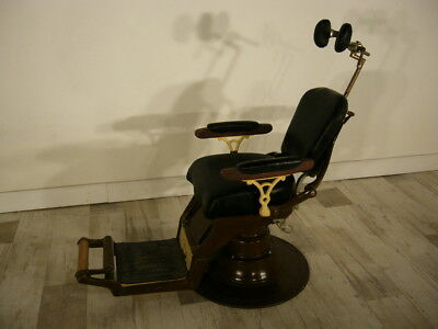 Zahnarzt Stuhl Dental Chair Industrie Design Art Déco von Cash & Sons um 1930