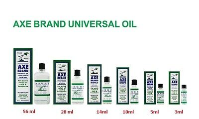 AXE BRAND universal medicated OIL Quick Relief Cold Headache Muscular Pain