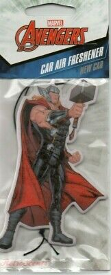 Marvel Avengers - Thor - Car Air Freshener - New Car    *New And Sealed*