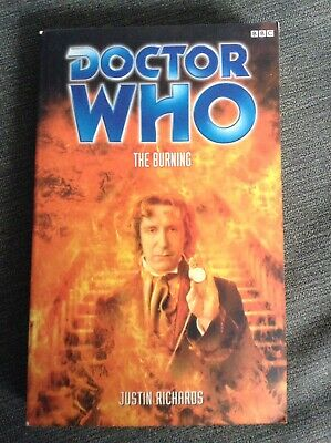 Dr Who The Burning EDA Novel 8th Eighth Doctor BBC Book 2000