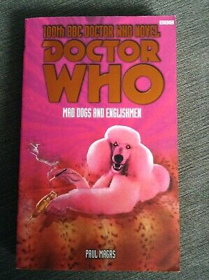 Dr Who Mad Dogs & Englishmen 100th EDA Novel 8th Eighth Doctor BBC Book 2002