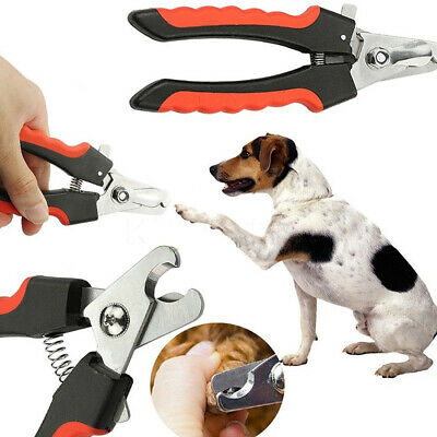 Pet Nail Clippers Claw Dog Animal Cat Trimmers Scissors Cutters Toe Small Large