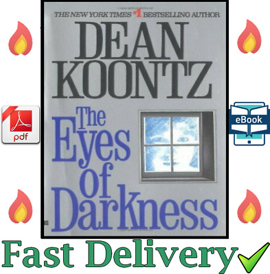 The Eyes of Darkness by Dean Koontz / 1981 / P.D.F - Fast Delivery <3